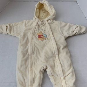 Baby DISNEY Fleece Winter Suit 3-6 months